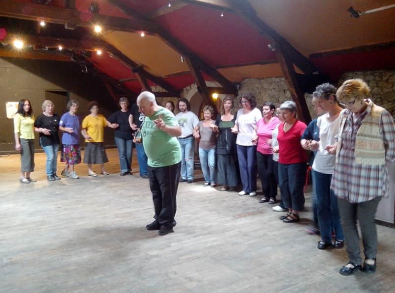 Stage de danse avec Yves Leblanc